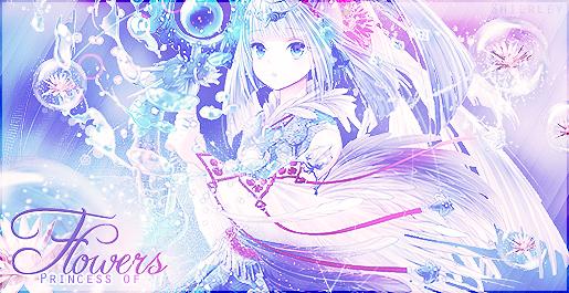 [Princess Of Flower] Signature fleurie 766516Flower
