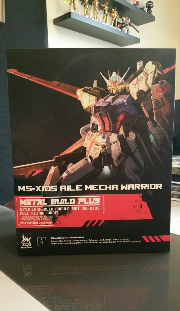Review/Edito : Strike Gundam Metal Build 1/72 by Moshow la leçon Chinoise donnée a Bandai  770243201610061338151