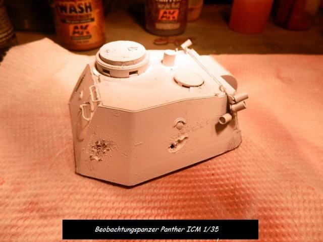 réhabilitation d un Béobachtungspanzer Panther ICM 1/35 770796P4240384