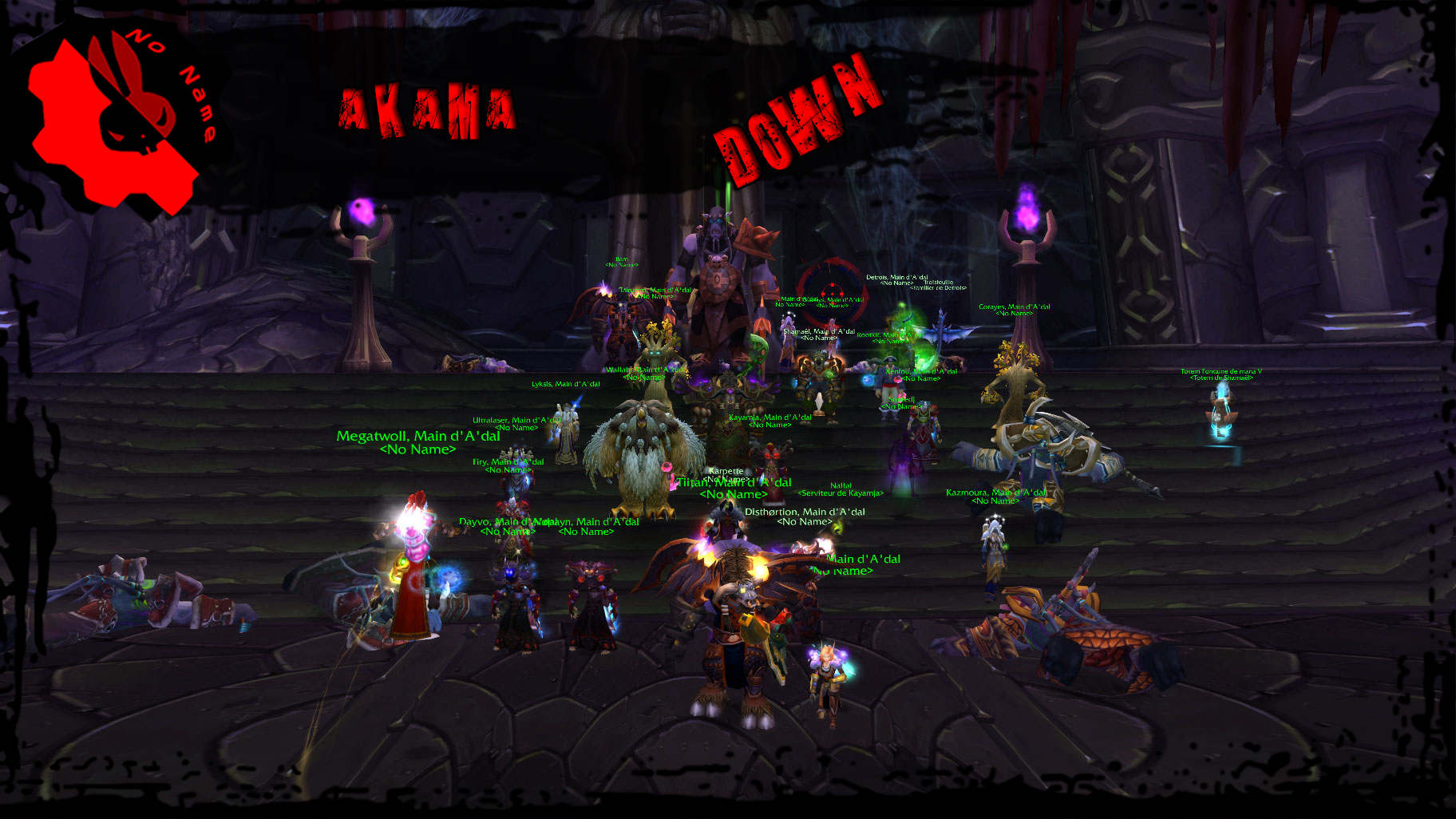 Down Akama 772965AKAMA