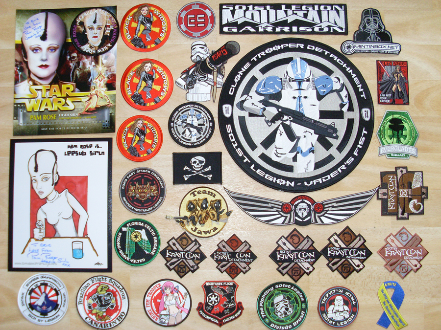 Collection N°123 : Ecussons Starwars & 501eme legion de Rico - Page 5 774476SL371422
