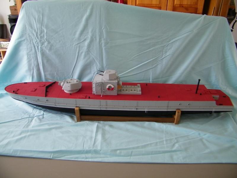 Russian gunboat Bk 1124 au 1/20e sur plan 7752601004672