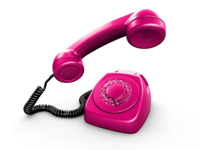 Le téléphone rose 775445tel