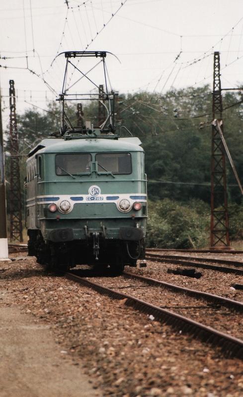 1999 - CC7107 train spécial IFC 2 octobre - Département des Landes 776584cc710719991002Puyo