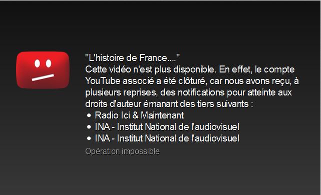 François Asselineau, c'est qui ? Pourquoi n'est-il jamais invité sur les plateaux de télé ? - Page 2 777366francoisasselineaulhistoiredefrancebloqu