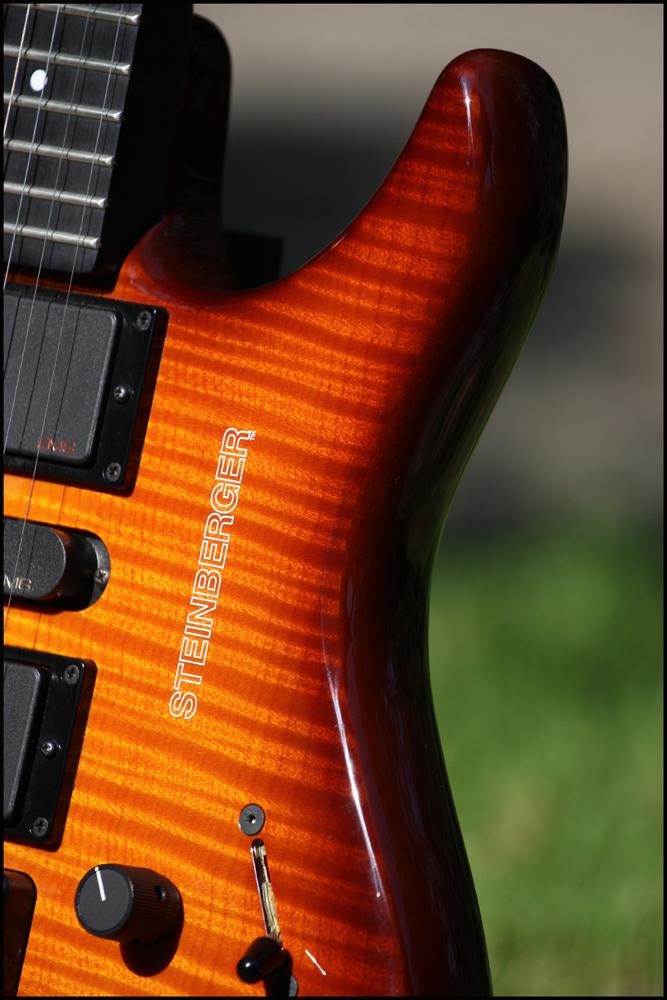 """Steinberger GM7SA - The """"Headless"""" guitar ^^ 77748586s4"""