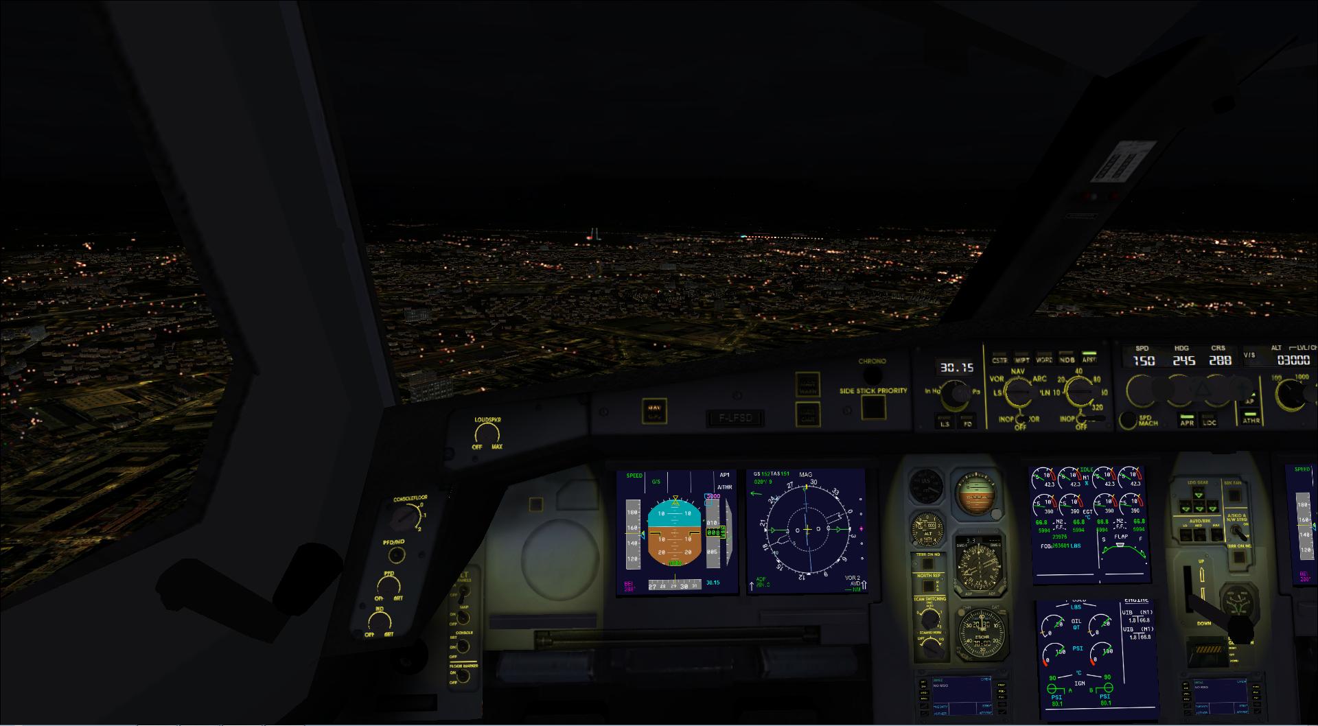 Paris Orly- Bordeaux Merignac en IFR 77793720131125213228258