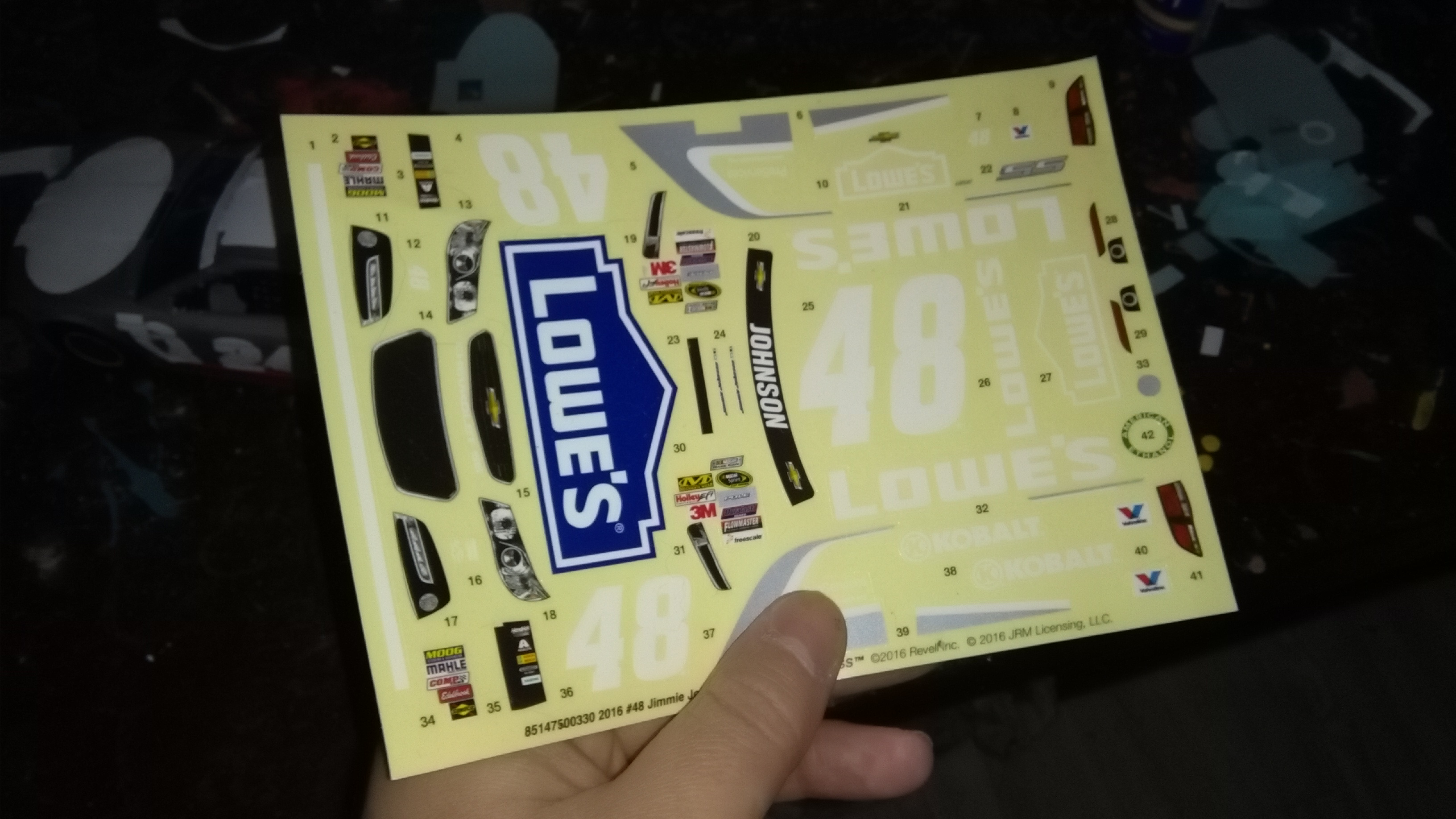 Chevrolet SS 2015 #24 Jeff Gordon 3M 780204IMG20170319184104