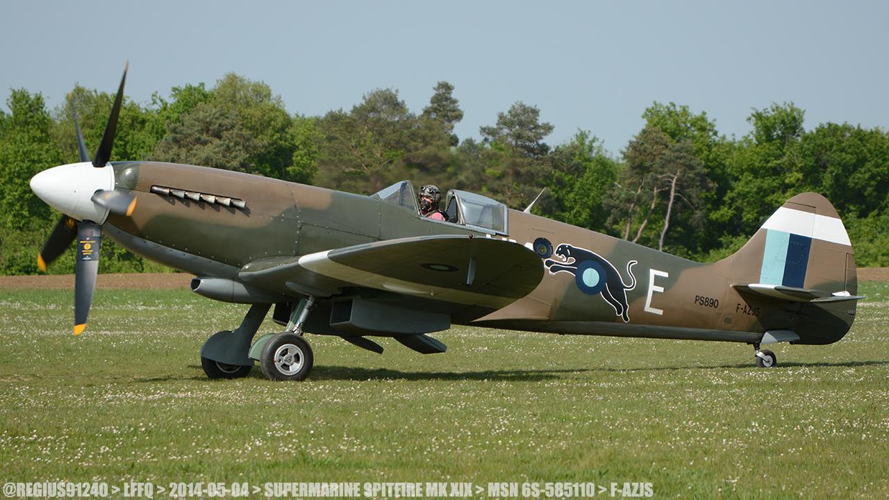 Spitfire MK XIX 780719LFFQ20140504SUPERMARINESPITFIREMKXIXMSN6S585110FAZJS