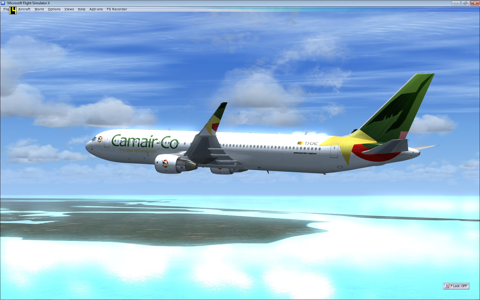 """Cameroonising Heavily"" Flight Simulator for a while now... 781376MicrosoftFlightSimulatorX"