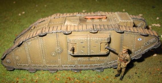 Char Mark III femelle 1917 au 1/72 782265MkIII