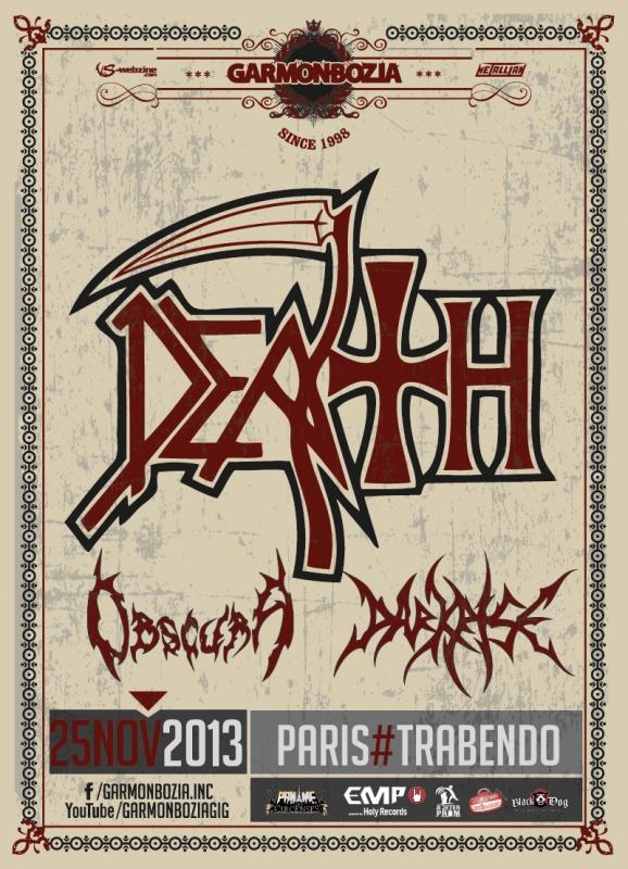 25.11 - Death-DTA + Obscura + .. @ Paris 78321120131125DeathParisv2