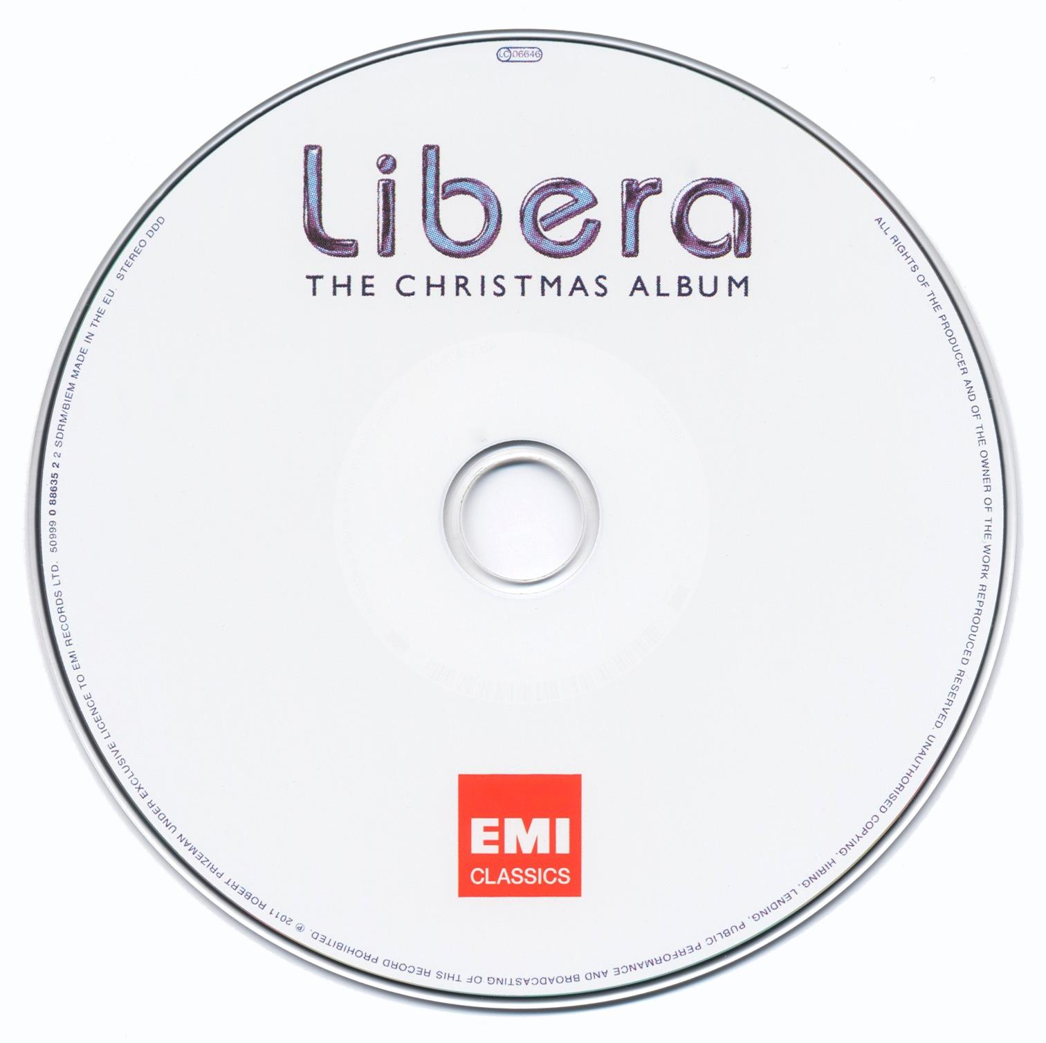 La discographie Libera 783709CDlarge