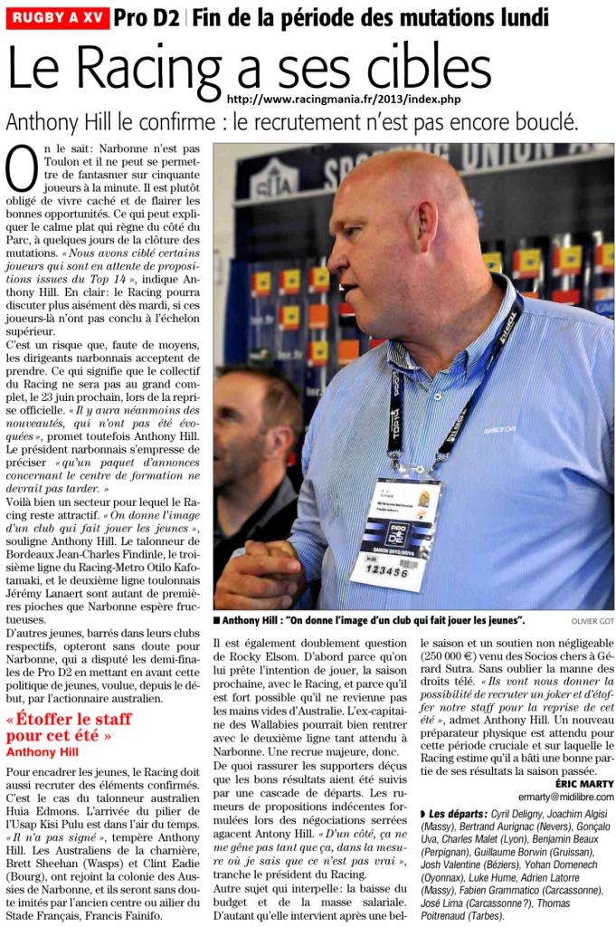 Racing Club NARBONNE Méditerranée - Page 2 784995photo1