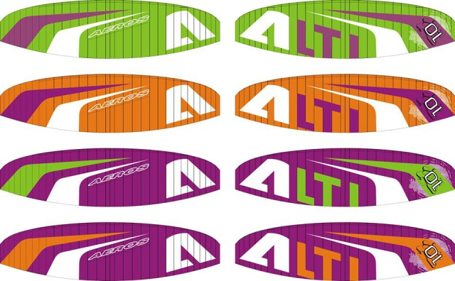 Snowkite AEROS ALTI 2015 785146alticolors2015