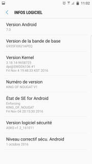 [ROM Custom] - ARRET de la KING Nougat 787810Screenshot20161113110241