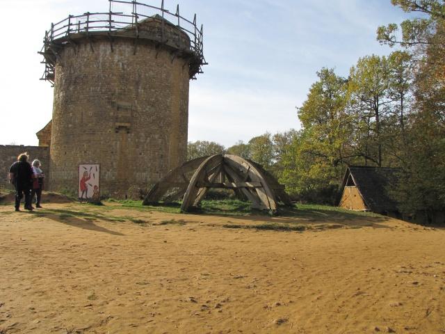 Chantier médiéval de Guédelon 788379IMG5327