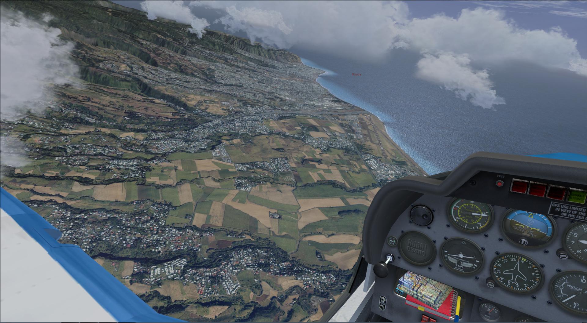 Survol de l'Ile de la Réunion 788786201482922129743