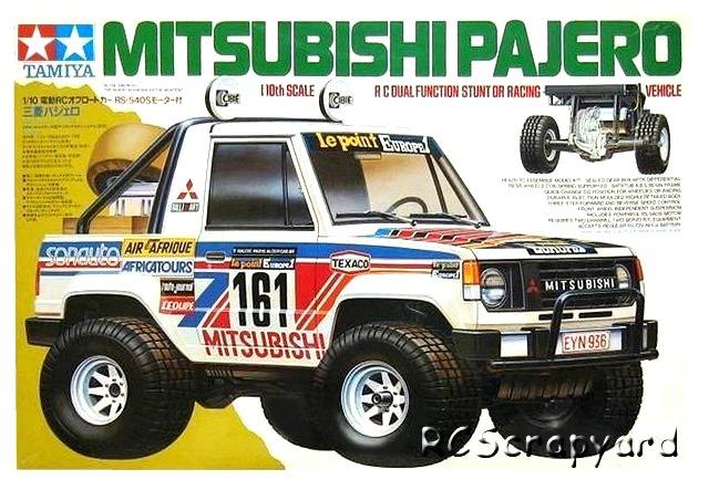 Tamiya Mitsubishi pajero 791765TamiyaMitsubishiPajero