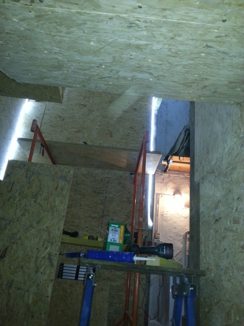 La construction de mon bloc dans le garage 79540520140925213850