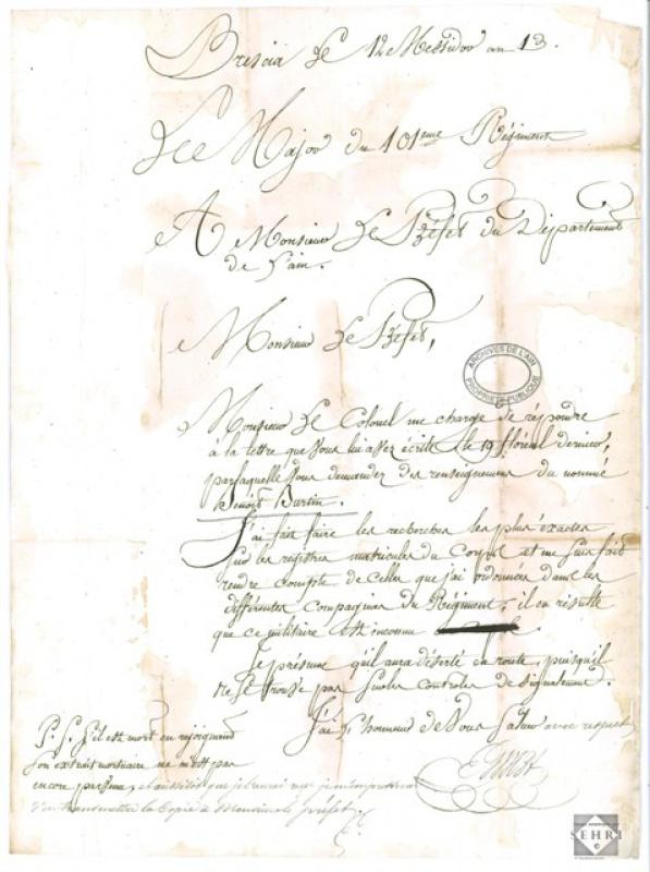 Le 101ème régiment d'infanterie de ligne  796516sehrie193