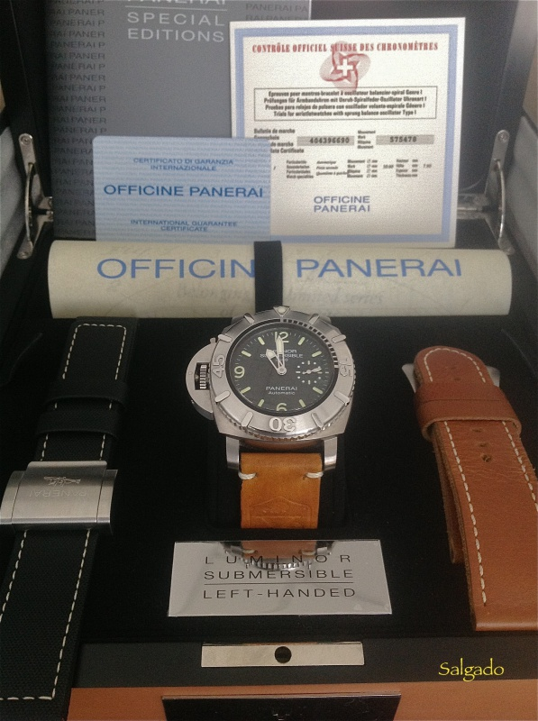 Revue Panerai Luminor 1950 Submersible 2500 Destro 358 SL 797175IMG1463