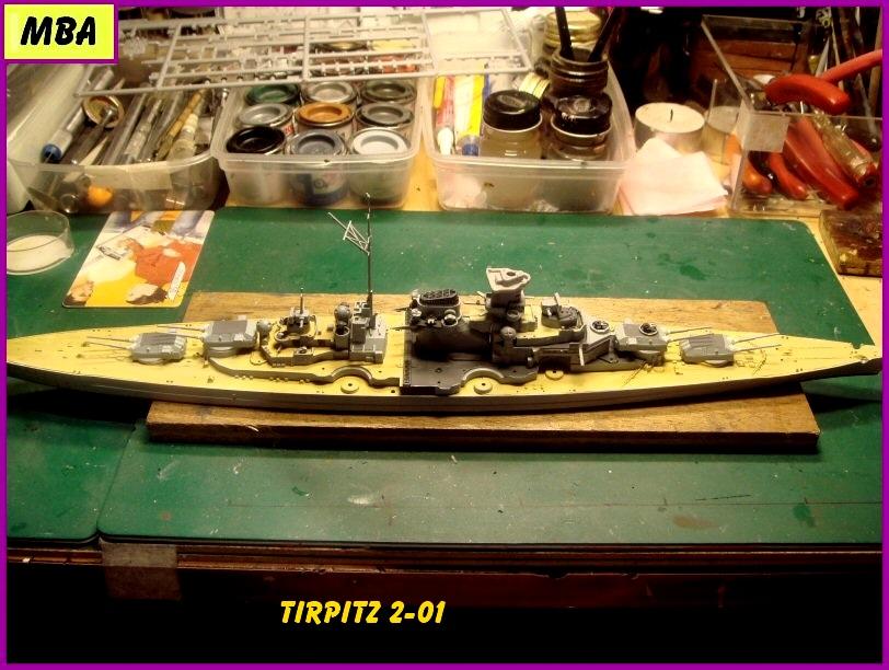 Le TIRPITZ au 1/700ème - DRAGON 797574tirpitz201