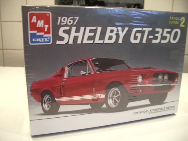 mustang shelby 350 GT 1967  au 1/25 de chez AMT/ERTL  798067IMGP0902