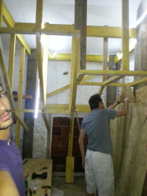 La construction de mon bloc dans le garage 80057720140914181743