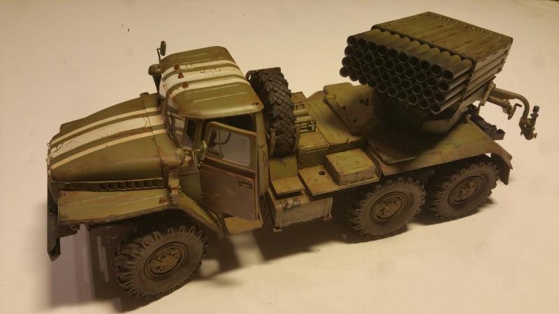 BM-21 GRAD 1/35 TRUMPETER 80126520161111210631