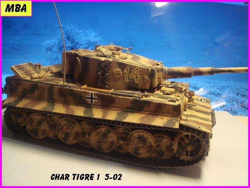 TIGRE 1 (Panzerkampfwagen VI Tiger Ausführung E - Sonderkraftfahrzeug 181) 801715Tigre502