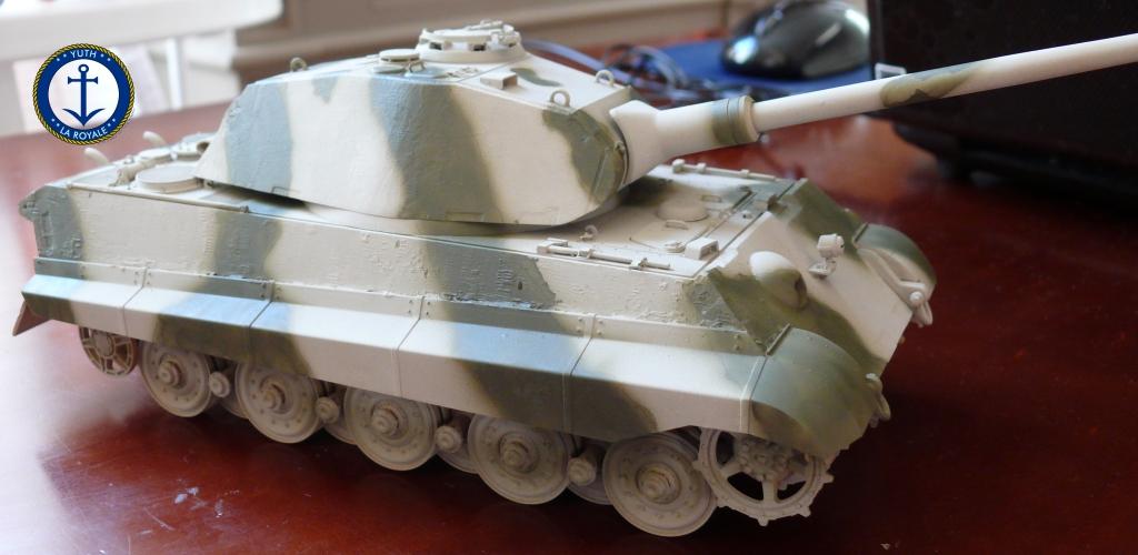 Sd.Kfz. 182 Panzer VI ausf B Tiger II Porsche Turret 803341konigstiger02