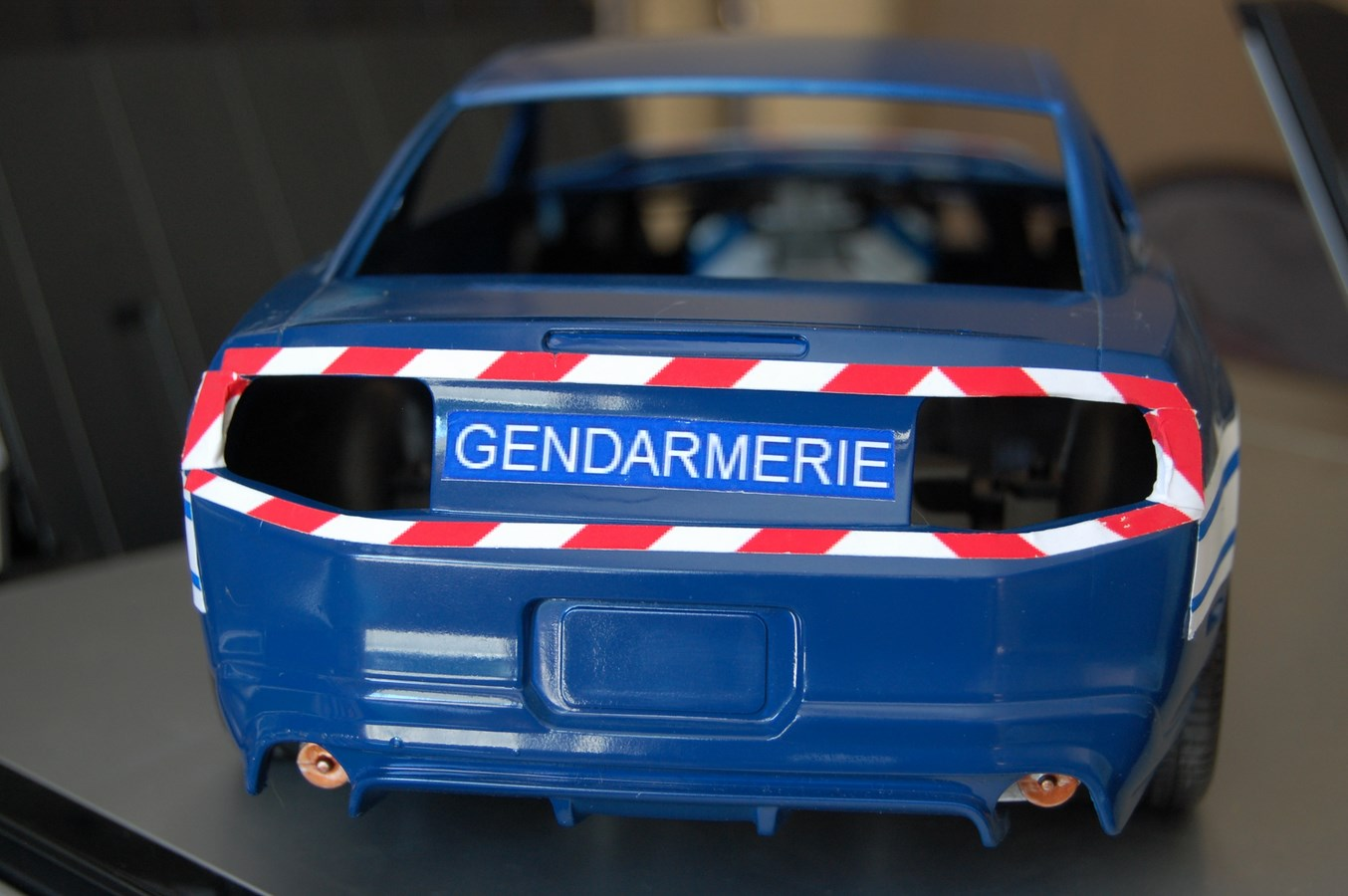 Shelby GT 500 version imaginaire Gendarmerie - Page 2 803490Mustag27Copier
