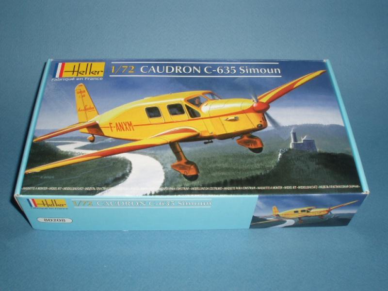 CAUDRON C-635 Simoun  (version Air Bleu). 1936  Heller 1/72. 803525airfix106