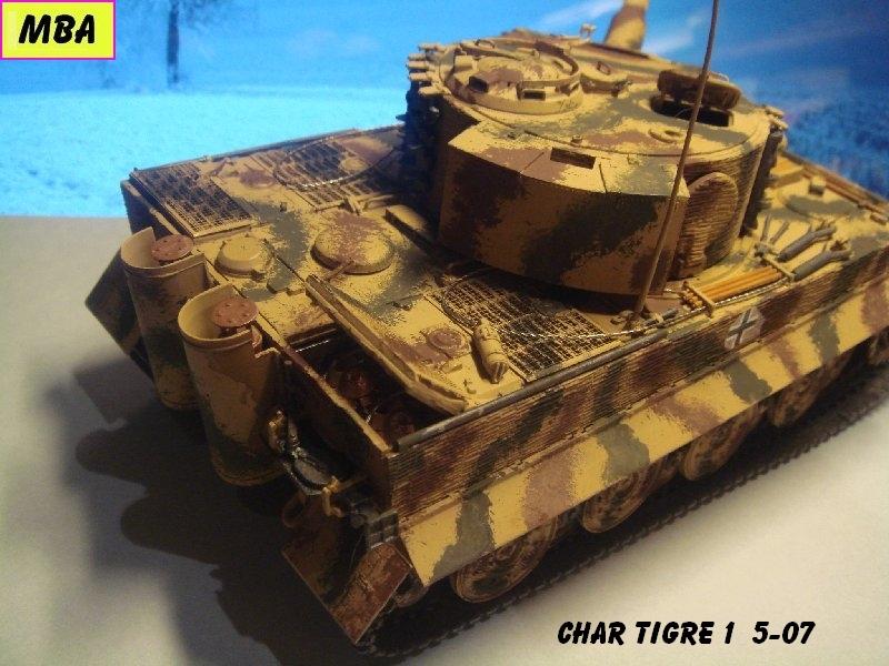 TIGRE 1 (Panzerkampfwagen VI Tiger Ausführung E - Sonderkraftfahrzeug 181) 803595Tigre507