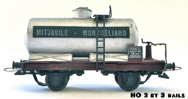 Wagons à 2 ess maquette citernes, foudres 804640VBMitjavillesansgurite2R