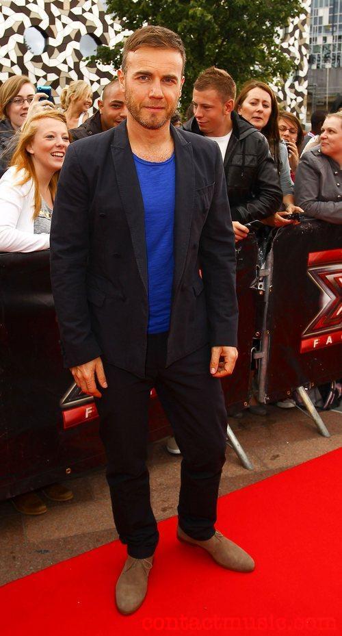 Gary à l'audition de X Factor - Londres O2 Arena 07-07-2011 8052282