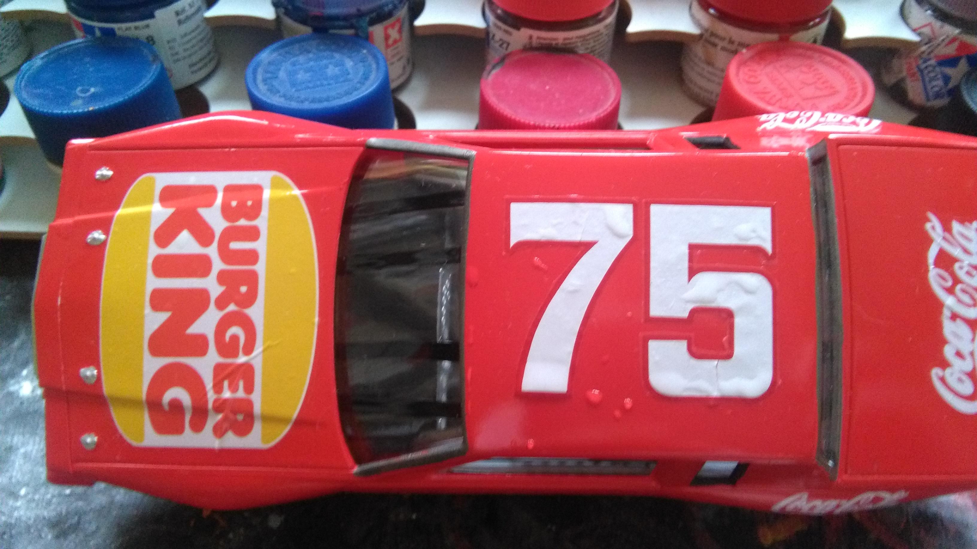 Pontiac Grand-Prix 1985 #75 Dave Marcis Coca-Cola (AMT 1/25) 807345IMG20170506121734