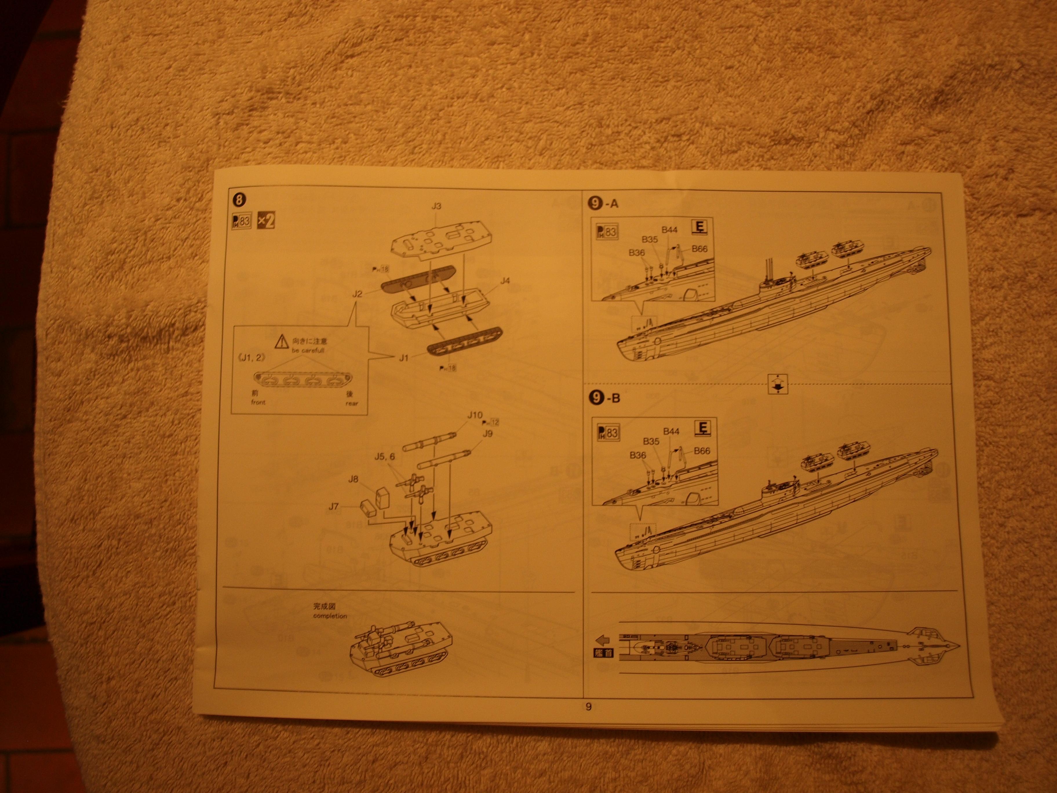 Sous marin I41 japonais  807476P9183314