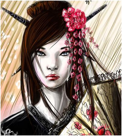 Les Geisha De Kyang