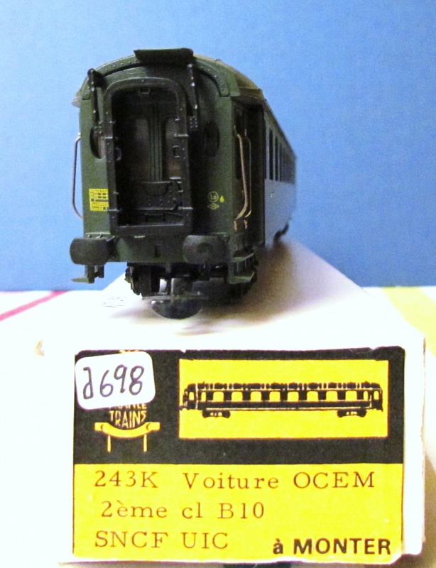"Voitures Ocem faces lisses ""France Trains"" 810279IMG6181"