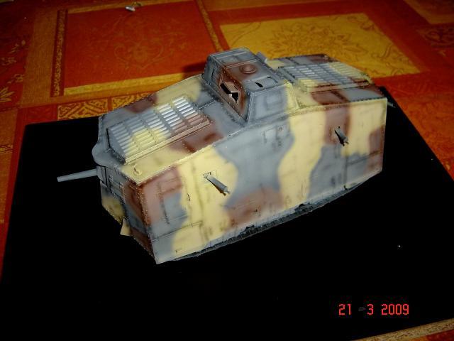 A7V [TAURO MODEL 1/35e] Le premier Panzer 81062A7V_peinture_et_vieillissement_016