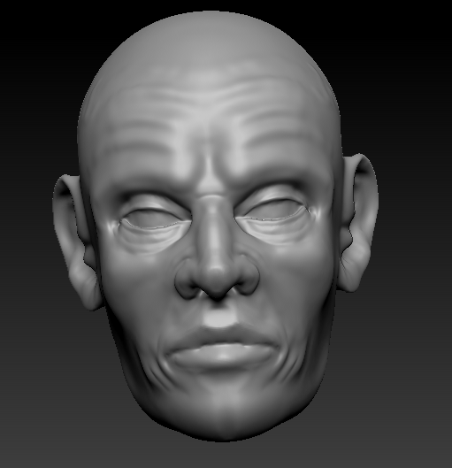 3D with Zbrush. 815034Visagedeface
