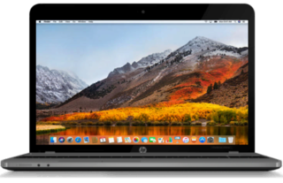macOS High Sierra / macOS Sierra HP Probook 816156system