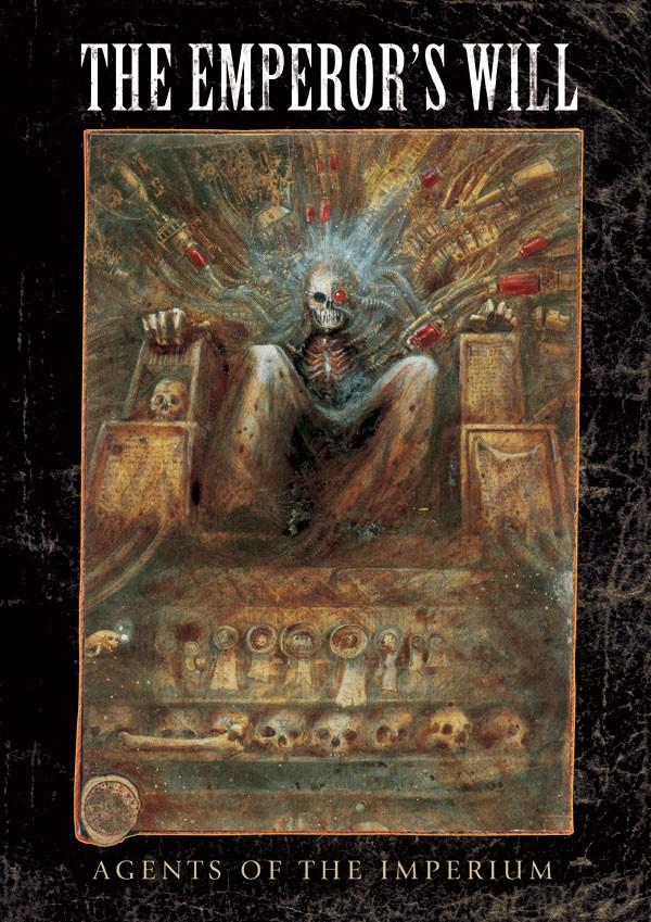 La Volonté de l'Empereur de John Blanche (Art Book) 816351EmperorsWill