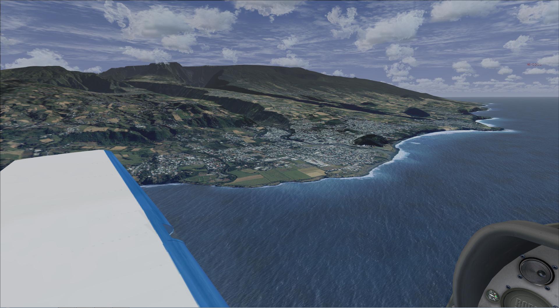 Survol de l'Ile de la Réunion 8168952014829214220119