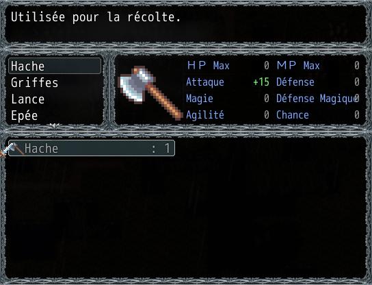 [VX Ace] Neferon - La Cité Sombre 817934MenuObjets