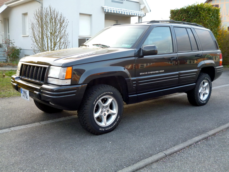 Jeep Grand Cherokee 5.9L V8 Limited LX 1997 819532P1020773