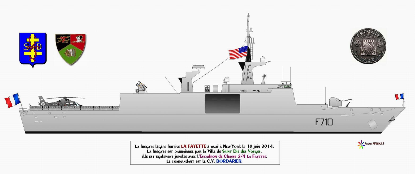 LA FAYETTE  F710 (FREGATE) - Page 2 819699FLFLaFayetteTd2014