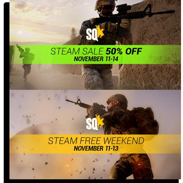 Squad jouable gratuitement ce weekend et à -50% à la vente 820356Sanstitre6